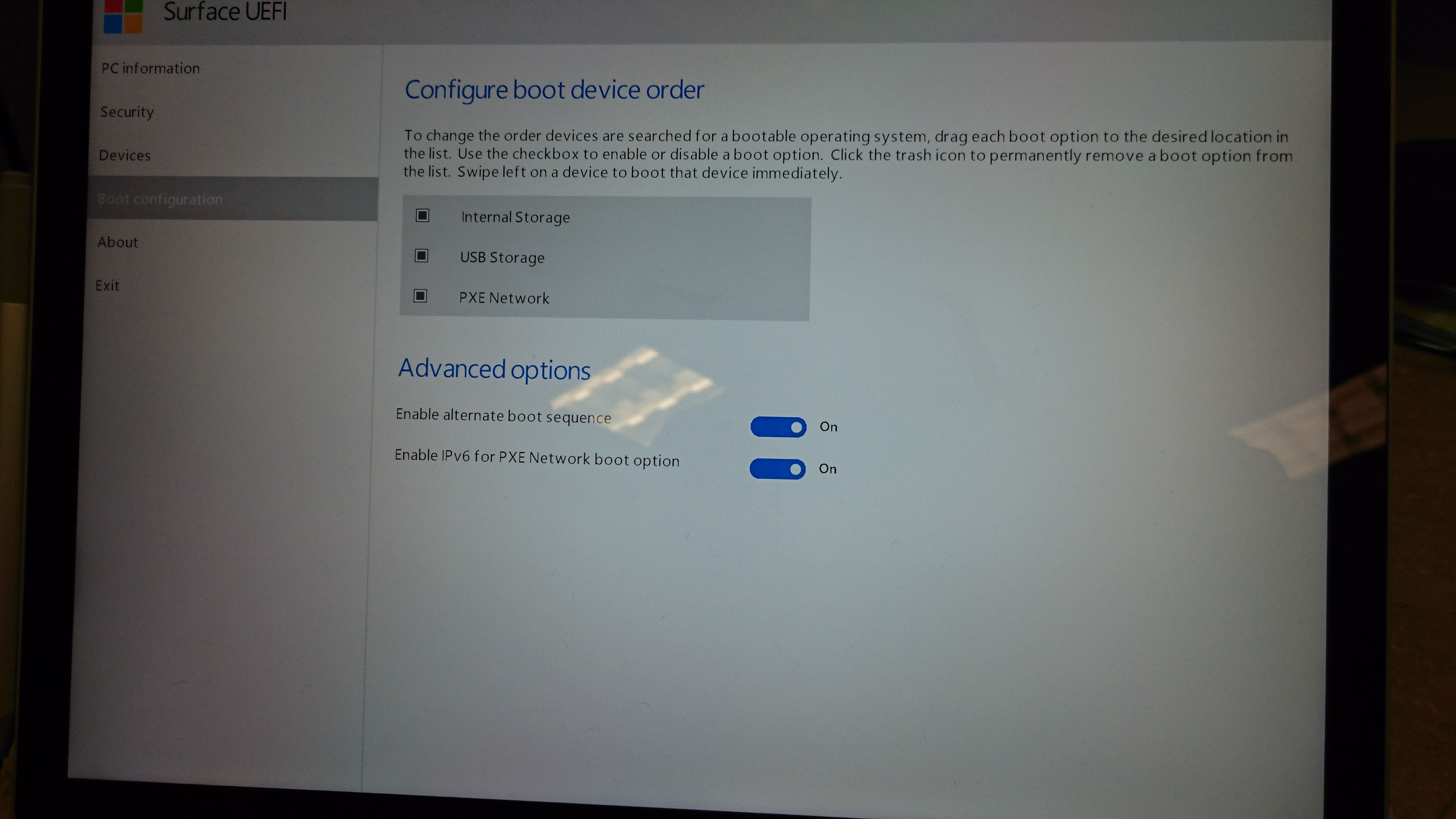 Surface Book trying to boot from SD card? | Microsoft