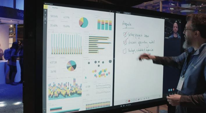 Surface Hub gets Whiteboard First With Windows 10 Creators update.JPG
