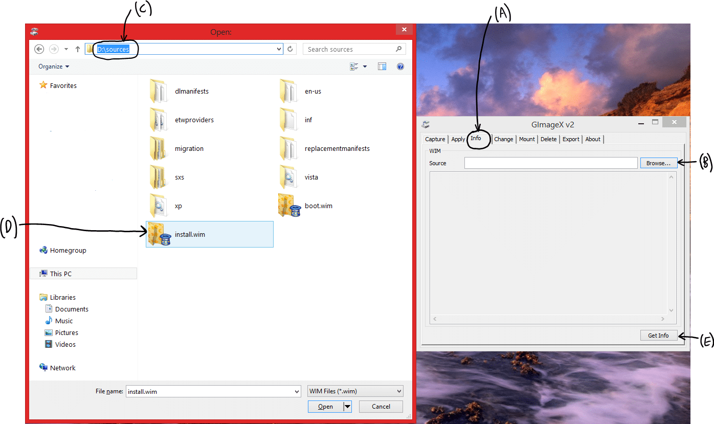 Testing Windows 10 (Opening install.wim File to Determine Desired Image Index).png