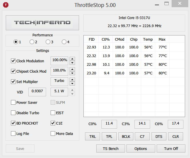 Throttlestop - running your Surface Pro maxxed out      Microsoft