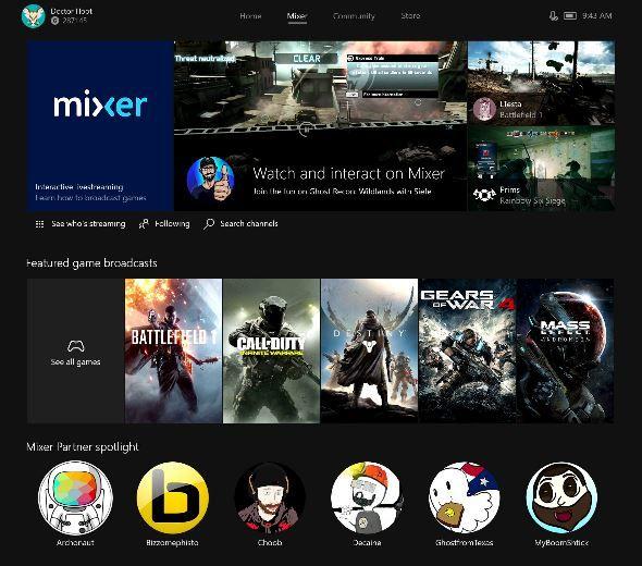 Microsoft rebrands Beam to Mixer.JPG